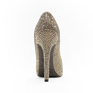 Full Swarovski Crystals Pump - Claudio Milano couture