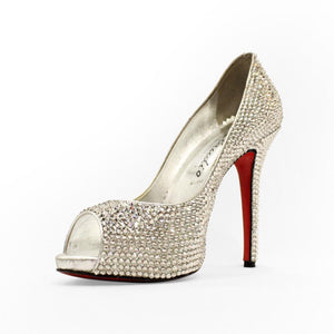 Full Swarovski crystals pumps - Claudio Milano Couture