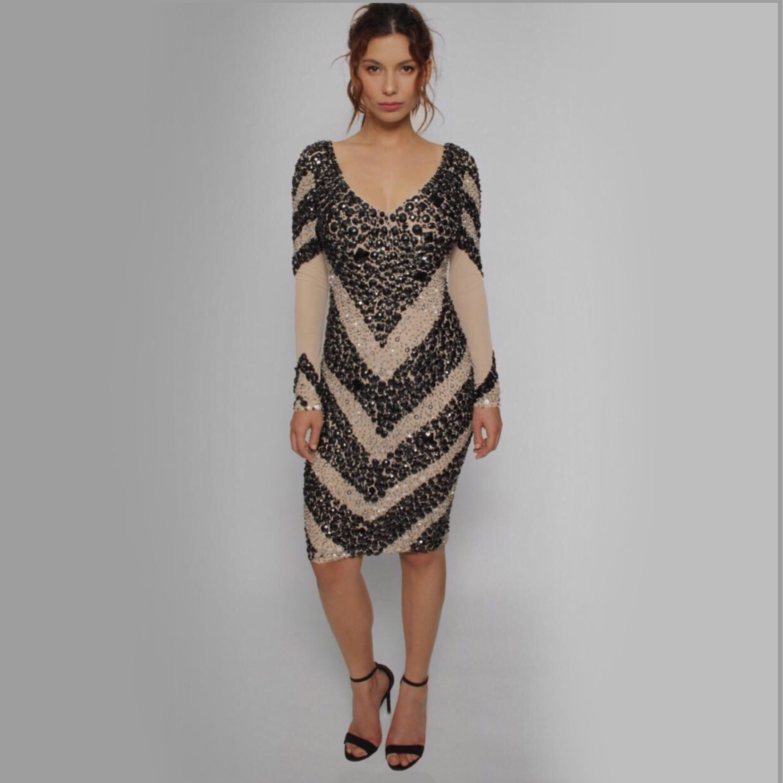 Beaded Dress - Claudio Milano Couture