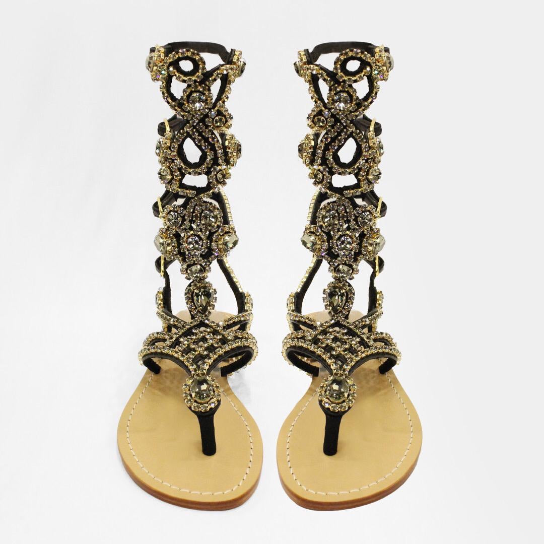The Roma sandal - Claudio Milano couture