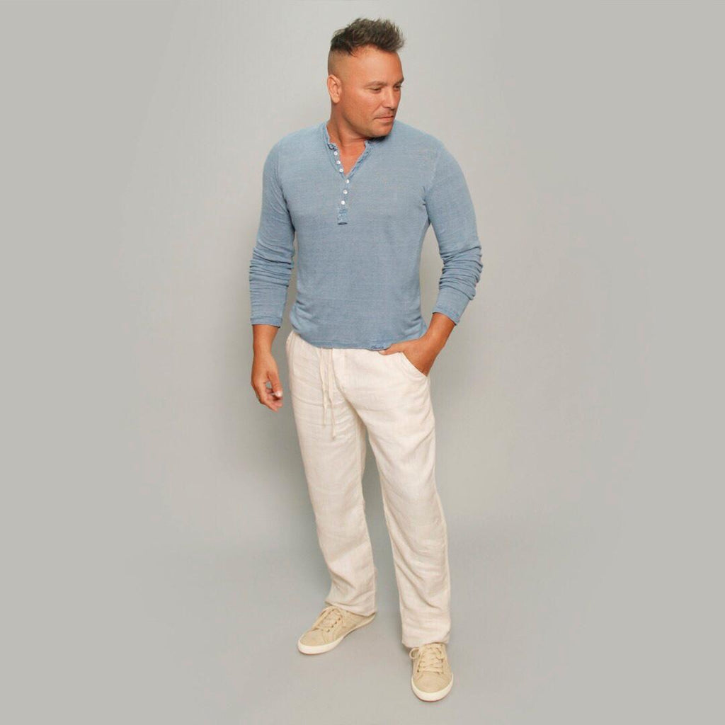 The Linen Pants - Claudio Milano couture