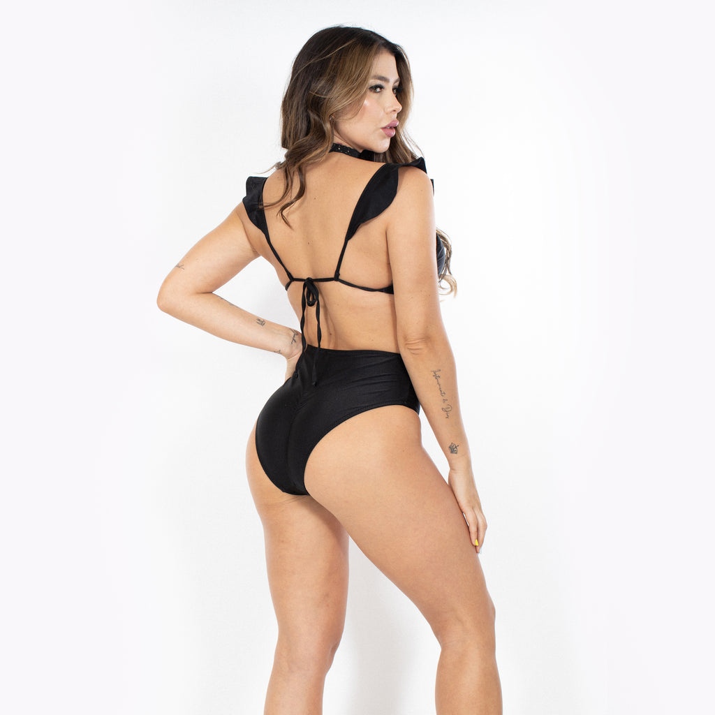 Swimwear Bottom High Waist - Claudio Milano Couture