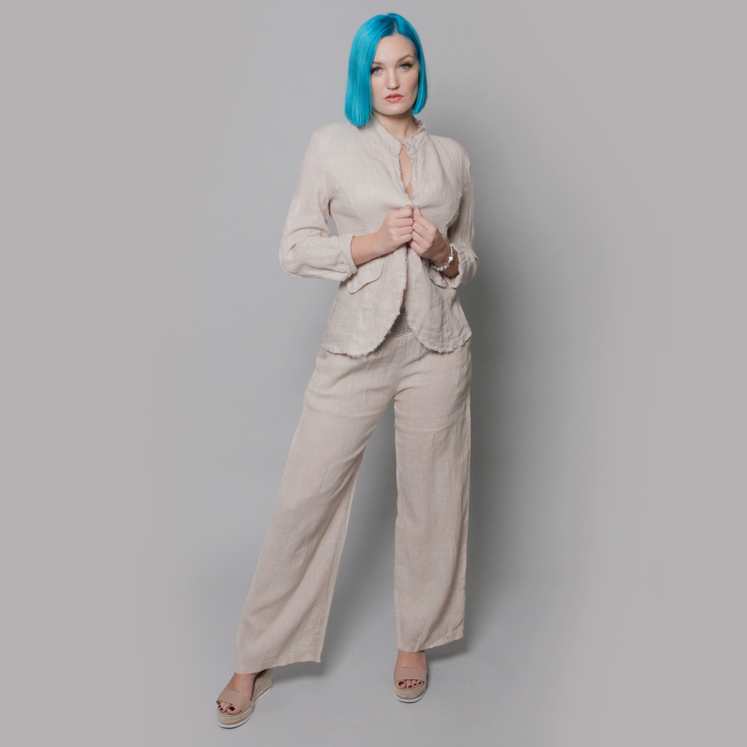 The Linen Pant - Claudio Milano couture