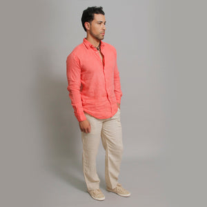 The Linen Shirt Regular Fit - Claudio Milano Couture