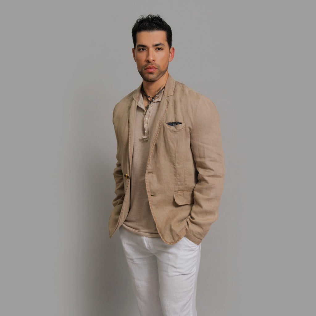 The Linen Blazer - Claudio Milano couture