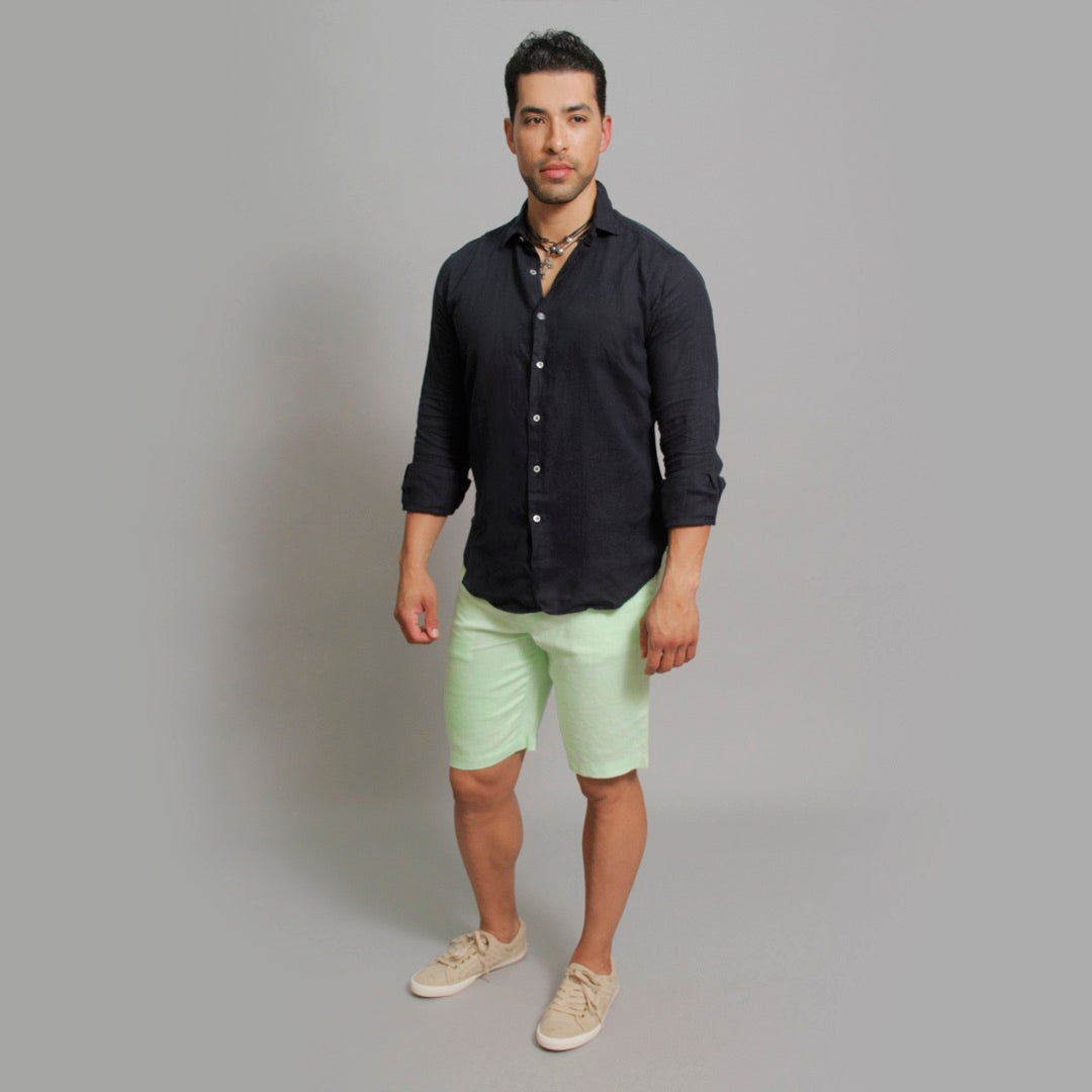 The Linen Short - Claudio Milano couture