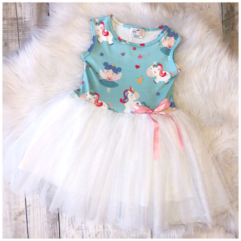Fairy and Unicorn Tulle Dress
