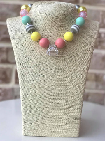 Spring Mix Bauble Chunky Necklace