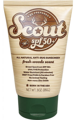 Scout All-Natural Sunscreen and Bug Repellent