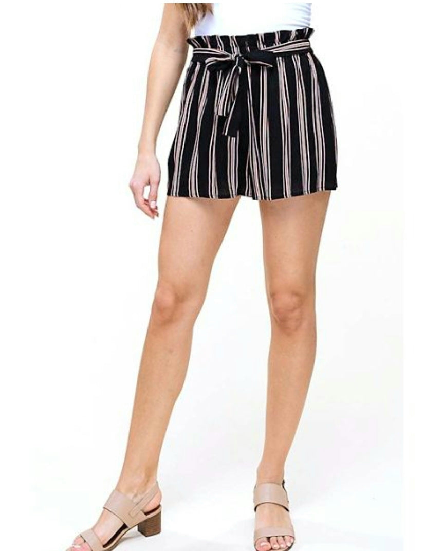 Danni stripped shorts
