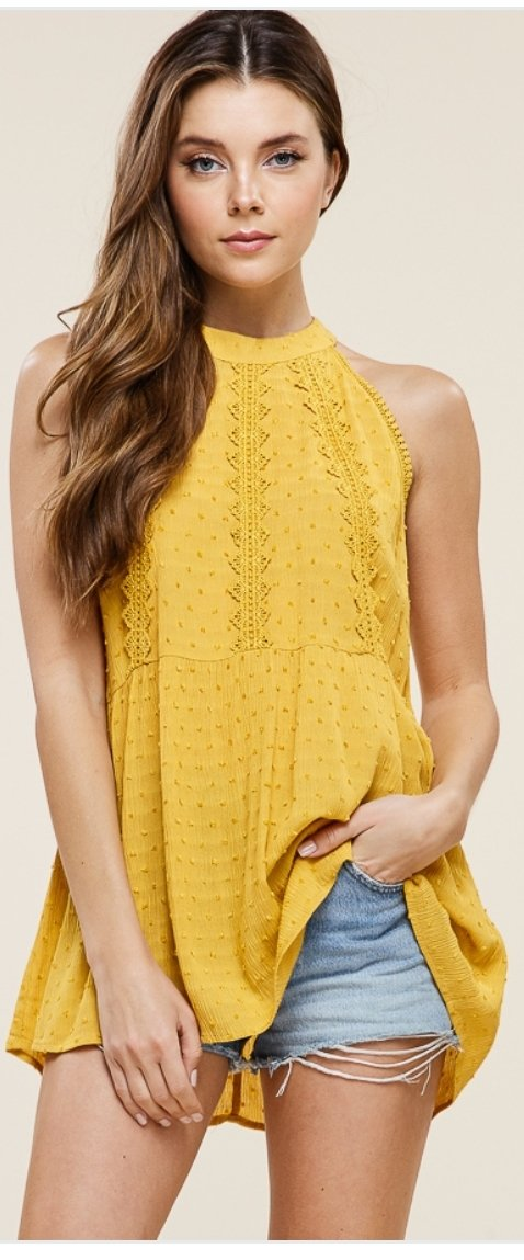 Kelly Halter blouse
