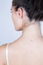 Load image into Gallery viewer, Lariat Diamond Necklace - White Gold