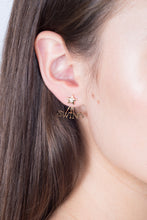 Load image into Gallery viewer, Swing and Fling Signature Earrings - Yellow Gold