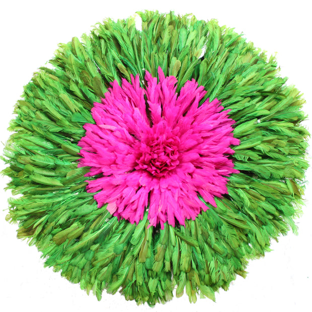 Green Fuschia Juju Hat