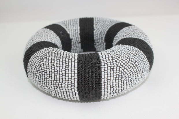 Black and White Tikar Bangle