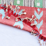 Rare Kirdi Beaded Tapestry -Village en Joie