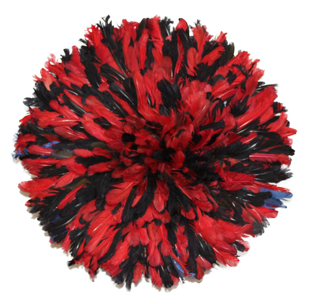 Red and Black Juju Hat