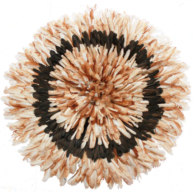Brown Circles Juju Hat