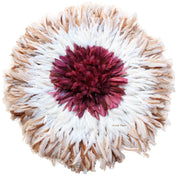 Burgundy Ring Juju Hat