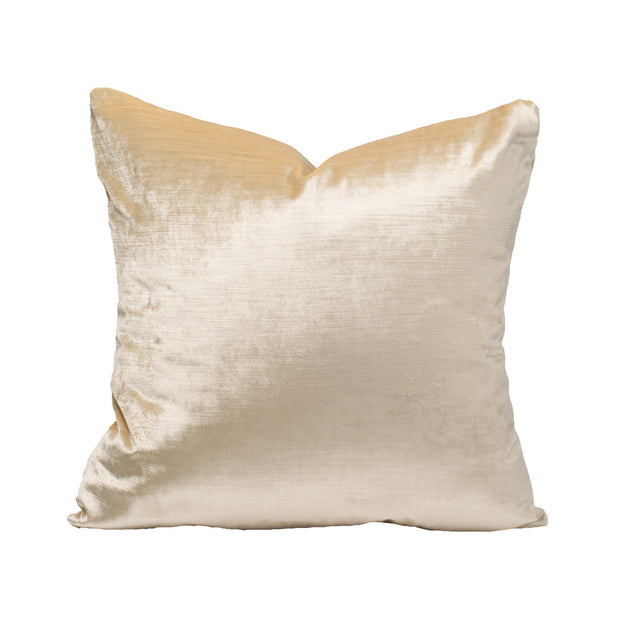 Cream  Velvet Pillow Cover