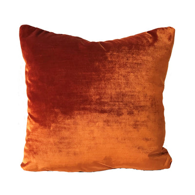 Orange Spice Velvet Pillow Cover