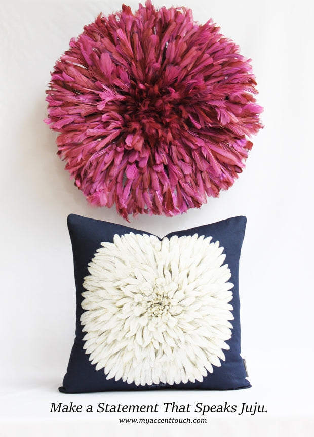 Juju Hat Pillow Cover /5 color options
