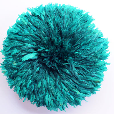 Shaded Teal Green Juju Hat