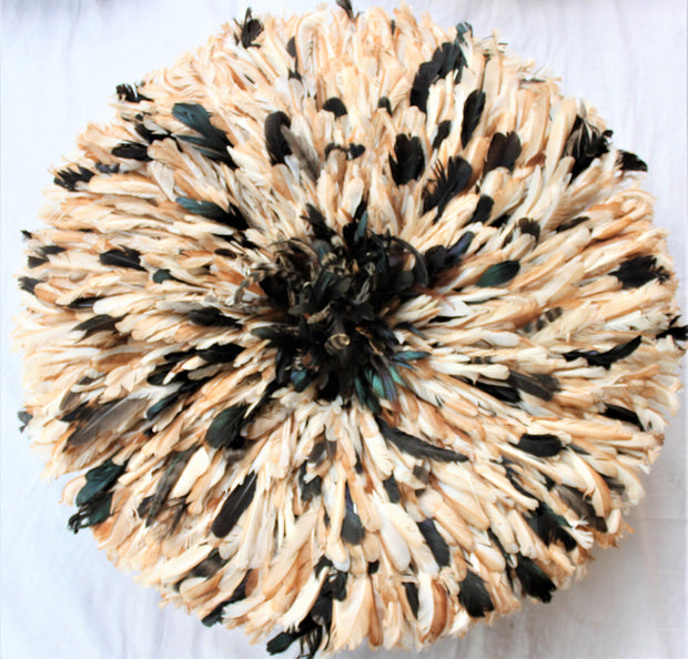 Sparkled Brown & Caramel Juju Hat