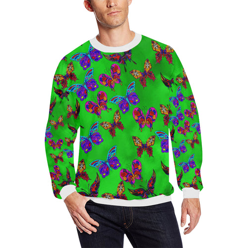 Butterfly Topia Plus-size Men's All Over Print Sweatshirt