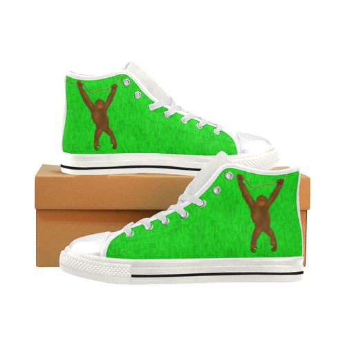 Savety Monkey Aquila High Top Canvas Men's Shoes