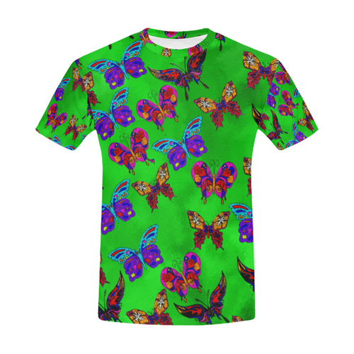 Butterfly Topia Men's All Over Print T-shirt (USA Size)