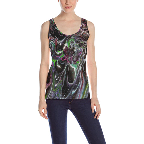 Color Storm Women's All Over Print Tank Top