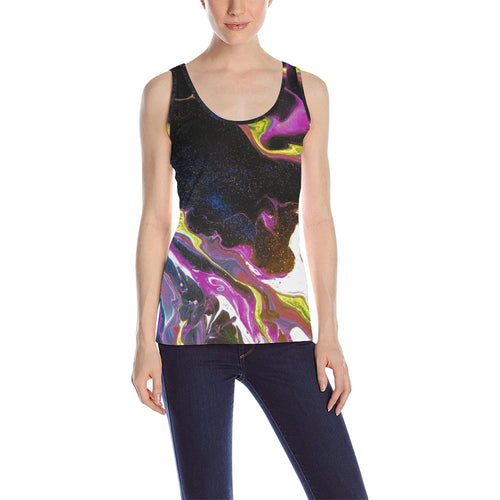 Flowing Universe Women's All Over Print Tank Top