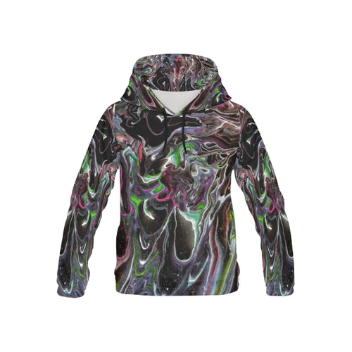 Color Storm Youth All Over Print Hoodie (USA Size)