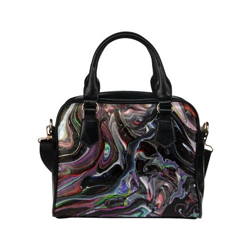 Universe Interrupted Shoulder Handbag