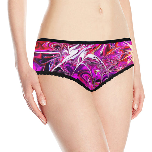 Pink World Women's All Over Print Classic Briefs