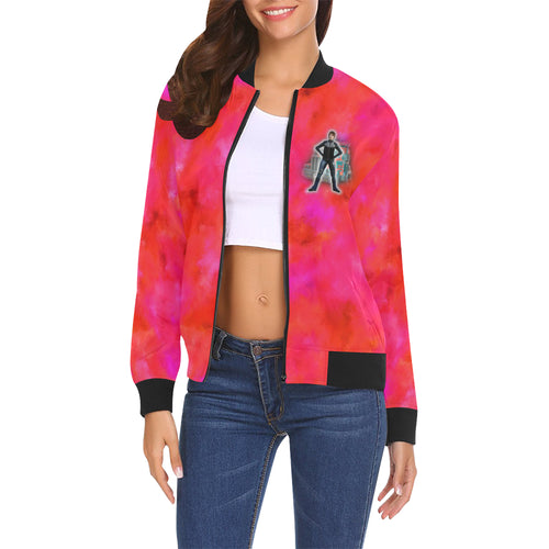 Tougher than a Truck Women's All Over Print Casual Jacket