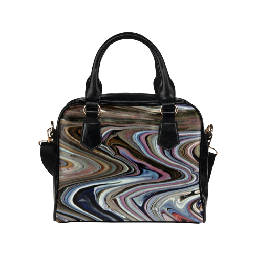 Wavy Cravy Shoulder Handbag