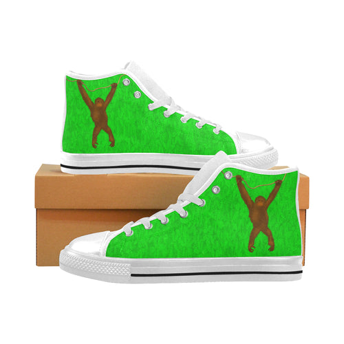 Savety Monkey Aquila High Top Canvas Men's Shoes (Large Size)