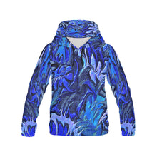 Aurora Florialis Men's All Over Print Hoodie Large Size (USA Size)