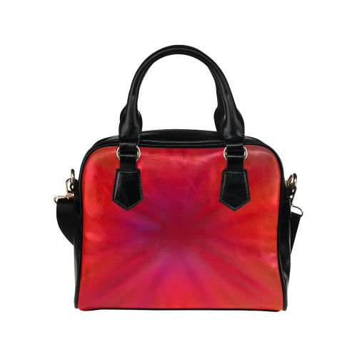 Tropical Flower Shoulder Handbag