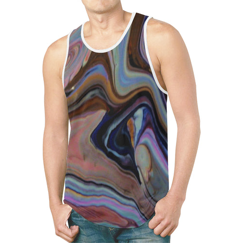 Wave World Men's All Over Print Tank Top