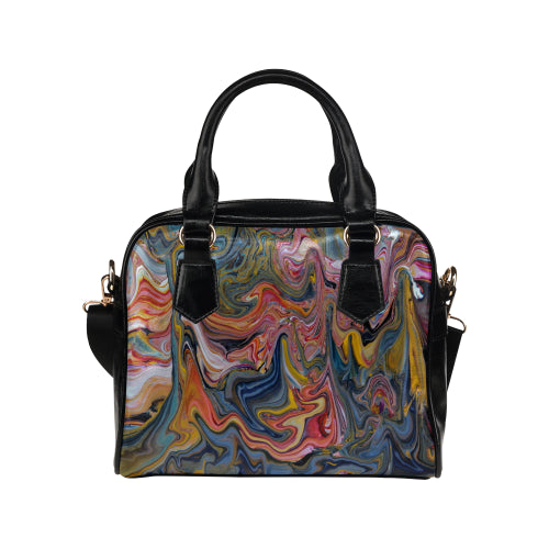 Swirly Whirly Shoulder Handbag