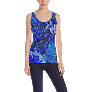 Aurora Florialis Women's All Over Print Tank Top
