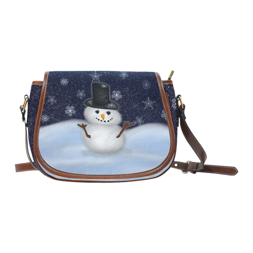 Snowman Saddle Bag (Big)