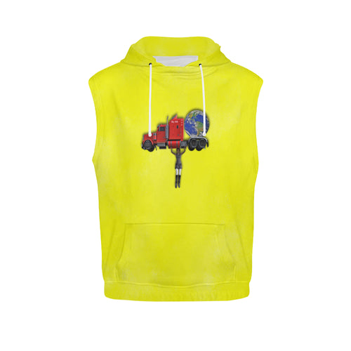 Nothing Crushes Her Men's All Over Print Sleeveless Hoodie