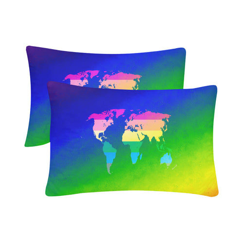 Worldwide Pride Rectangle Pillow Case 20