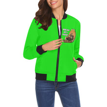 More than just a trucker Women's All Over Print Casual Jacket