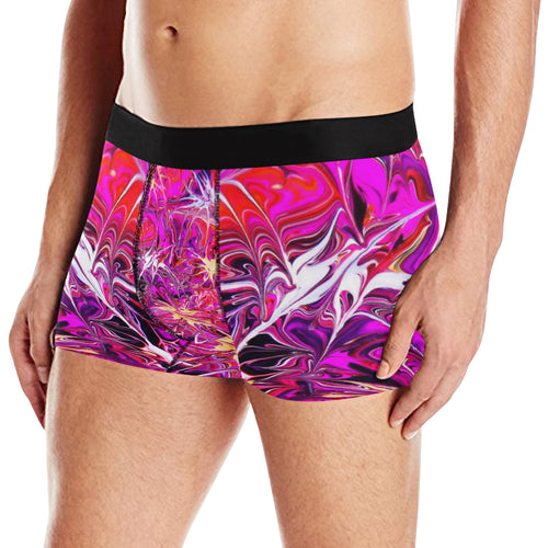 Pink World Men's All Over Print Briefs