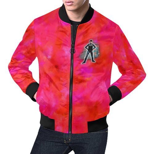 Tougher than a Truck Men's All Over Print Casual Jacket